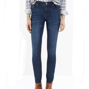 Madewell Jeans High Riser Skinny Size 27